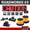 REDFLEET ROADWORKS SAFETY LIGHTING PACK #3
