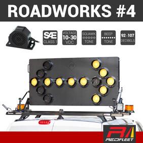 REDFLEET ROADWORKS SAFETY LIGHTING PACK #4