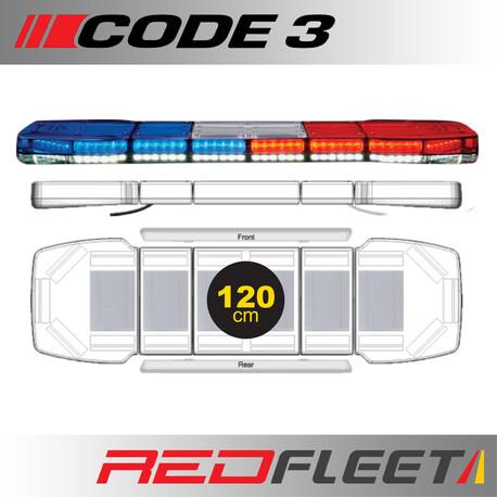 120CM - CODE 3 PURSUIT 25 Series L.E.D. Warning Light Bar
