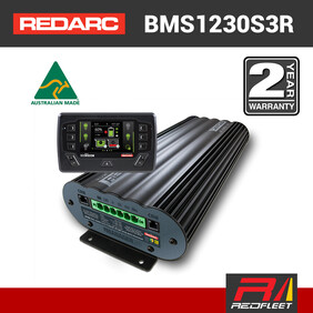 REDARC BMS1230S3R THE MANAGER30 with REDVISION Display Battery Management System