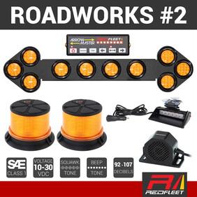 REDFLEET ROADWORKS SAFETY LIGHTING PACK #2
