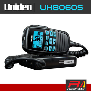 UNIDEN UH8060S UHF CB Two Way In Car Vehicle Radio