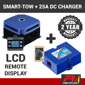 SMART-TOW & SMART-CHARGER 25 DC Battery Charger & Electric Brake Towing Pack