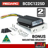 REDARC 25 Amp 12V / 24V DC to DC Dual Battery In-Vehicle Charger with Solar BCDC1225D