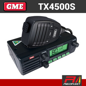 GME TX4500S DIN Size UHF CB Two Way In Car Vehicle Radio