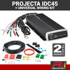 PROJECTA 45 Amp IDC45 9-32VDC In-Vehicle Battery Solar Charger with Universal Wiring Harness Kit