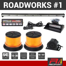 REDFLEET ROADWORKS SAFETY LIGHTING PACK #1