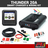 THUNDER 20 Amp 12-24V DC-DC In-Vehicle Battery Solar Charger with Universal Wiring Kit
