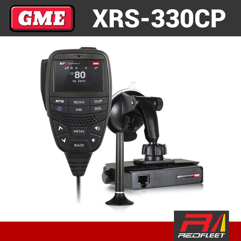 GME XRS-330CP Portable Pack UHF CB Two Way In Car Vehicle Radio