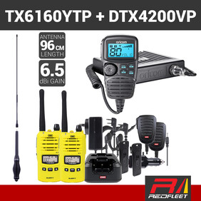 REDFLEET GME TX6160YTP TWIN PACK + ORICOM DTX4200 VALUE PACK