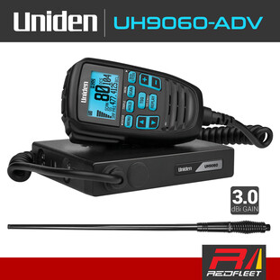 Discontinued - UNIDEN UH9060-ADV Pack UHF CB Two Way In Car Vehicle Radio