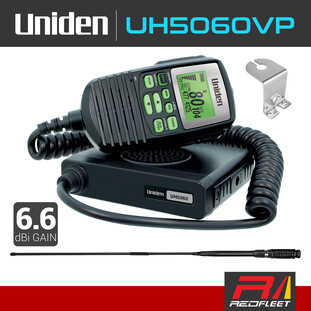 UNIDEN UH5060VP Value Pack UHF CB Two Way In Car Vehicle Radio