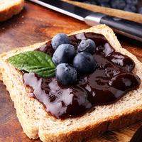 Jamming Toast Blueberry
