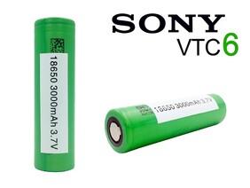 Sony VTC6 3000mAh Battery
