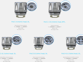 Joyetech Pro Coil for ProCore Aries Atomizer (5 PACK)