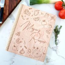 Timber Recipe Book Cover A4