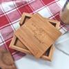 Bamboo Coaster Set - Mothers Day