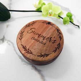 Solid Timber Keepsake Box