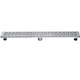 Linear Wastes | 304 S/Steel Floor Grate | 813 x 80 x 50mm | Centre Waste - Code: TLG-0801