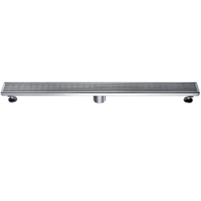 Linear Wastes | 304 S/Steel Floor Grate | 915 x 80 x 50mm | Centre Waste - Code: TLG-0903