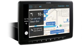 "Alpine iLX-F309E Halo9 9"" Apple CarPlay / Android Auto / HDMI / USB / Bluetooth /  FLAC / DAB+"