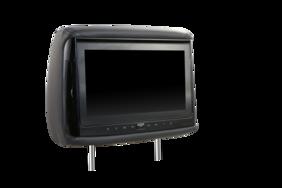 "HiTv V900 9"" DVD Replacement Headrest Set"