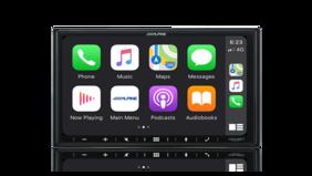"Alpine ilx-w650e 7"" Apple CarPlay / Android Auto / FLAC / MP3 / WMA / AAC / Bluetooth"