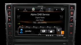 Alpine X800D Mercedes Vito 447 - 8″ DAB+/DVD/USB/HDMI/Bluetooth Advanced Navi Station