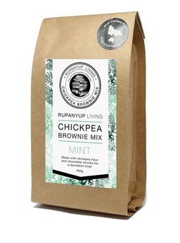 Mint Chickpea Brownie mix