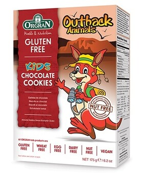 Gluten Free Cookies Outback Animals Chocolate