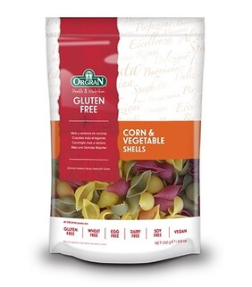 Gluten Free Shell Corn and Vegetable