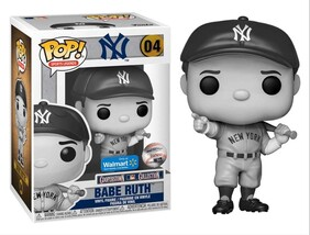 MLB - Babe Ruth Black & White US Exclusive Pop! Vinyl