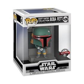 Star Wars - Boba Fett Metallic US Exclusive Pop! Deluxe Diorama