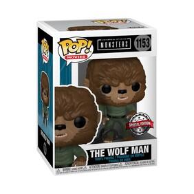 Universal Monsters - Wolf Man US Exclusive Pop! Vinyl [RS]