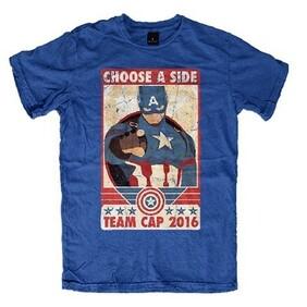 Marvel Civil War Mens T Shirt ( Large )