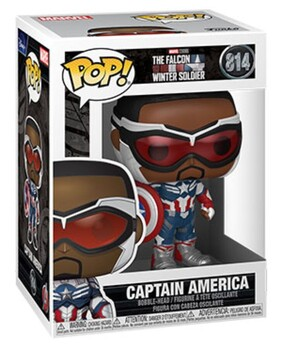 The Falcon and the Winter Soldier - Captain America Pop! Vinyl