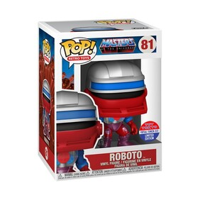 Masters of the Universe - Roboto SDCC 2021 US Exclusive Pop! Vinyl [RS]