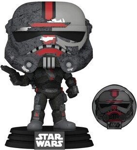 Star Wars: Across the Galaxy - Hunter US Exclusive Pop! Vinyl with Pin [RS]