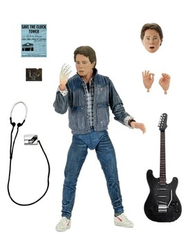 """Back to the Future - Marty McFly '85 Audition 7"""" Action Figure"""