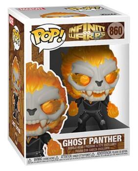 Infinity Warps - Ghost Panther Pop! Vinyl