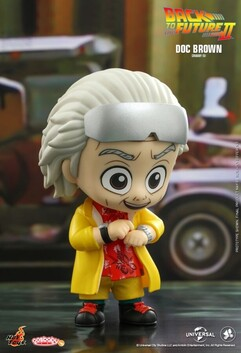 Back to the Future 2 - Doc Brown Cosbaby
