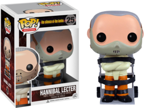 The Silence of the Lambs - Hannibal Lecter Pop! Vinyl