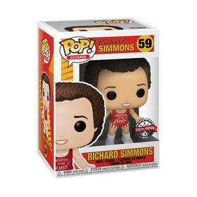 Icons - Richard Simmons (Red) US Exclusive Pop! Vinyl