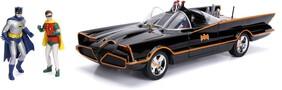 Batman (1966) - Batmobile 1:18 w/Batman