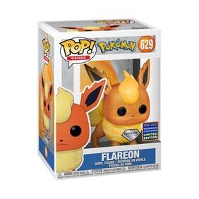 Pokemon - Flareon Diamond Glitter WC21 US Exclusive Pop! Vinyl [RS]