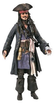 Pirates of the Caribbean - Jack Sparrow Deluxe Action Figure