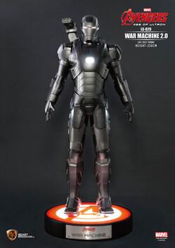 Avengers Age of Ultron War Machine 2.0 Life Size Statue