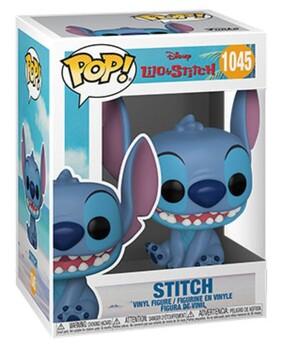Lilo & Stitch - Stitch Smiling Seated Pop! Vinyl
