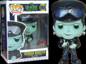 Munsters - Herman Biker US Exclusive Pop! Vinyl [RS]