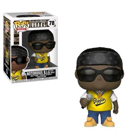 Notorious B.I.G. - Notorious B.I.G. with Jersey Pop! Vinyl